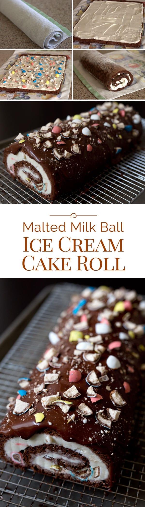 Malted-Milk-Ball-Ice-Cream-Cake-Roll-Collage-Barbara-Bakes