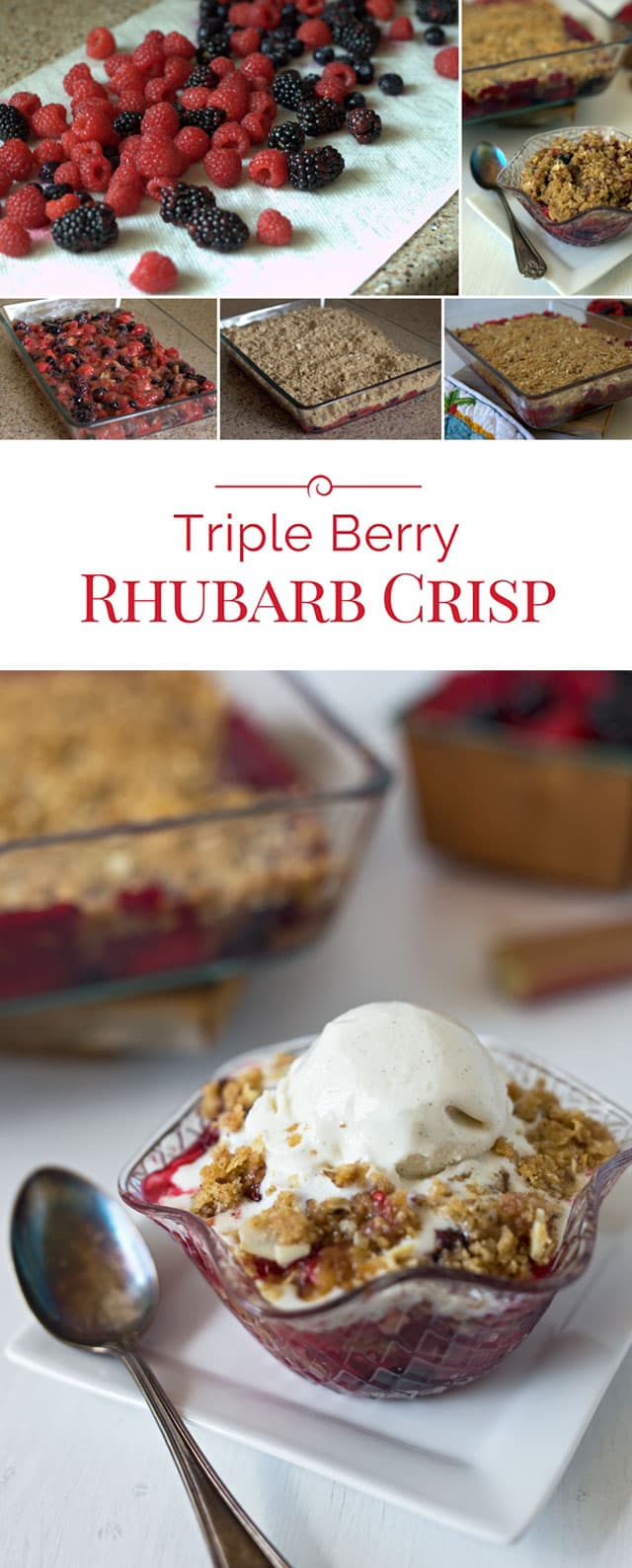 Triple-Berry-Rhubarb-Crisp-Collage-2-Barbara-Bakes