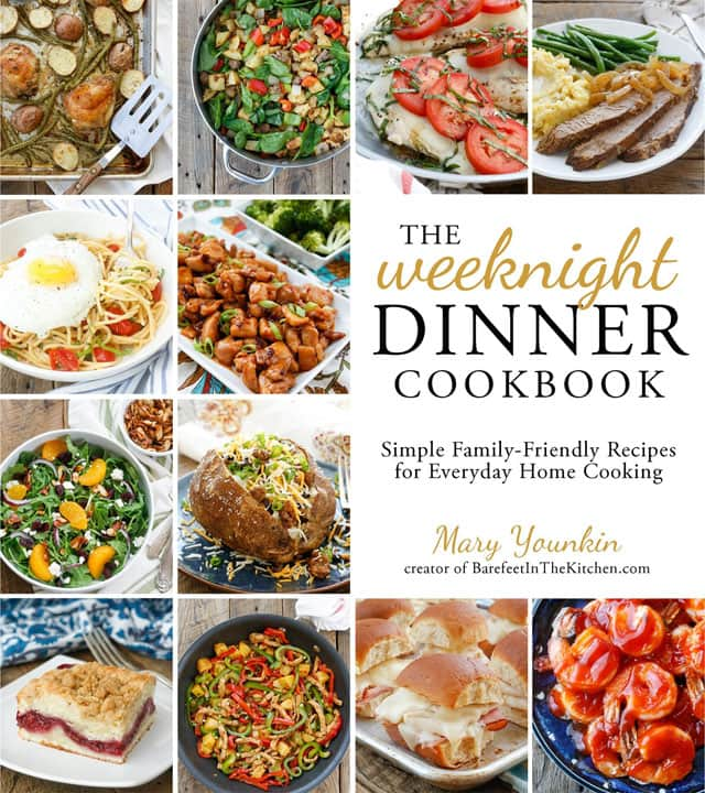 Cover photo of The-Weeknight-Dinner-Cookbook
