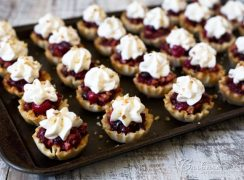 Featured Image for post Cranberry Pecan Pie Bites
