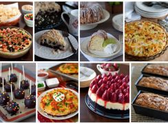 Featured Image Collage for post Most Popular Recipes of 2016
