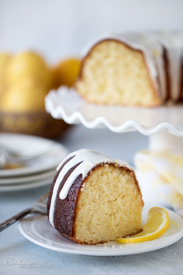 This Lemon Bliss Bundt cake is sweet and tart and super moist just like a lemon bundt cake should be. It\'s King Arthur Flour\'s 2017 Recipe of the Year.