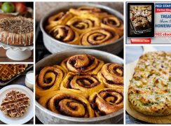 Featured Image Collage for post Free Bake Up A Smile Cookbook