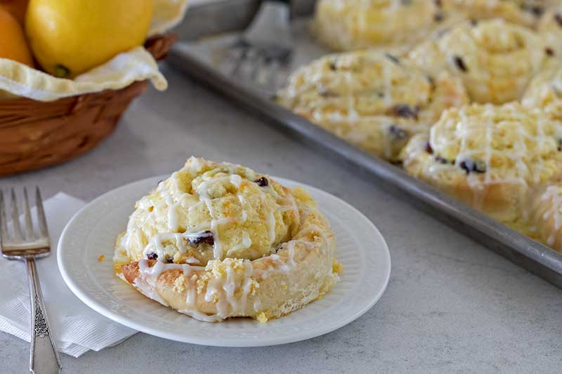 Featured Image for post Cranberry Citrus Cream Cheese Sweet Rolls