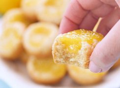 Lemon Bar Cookie Cup Bitten