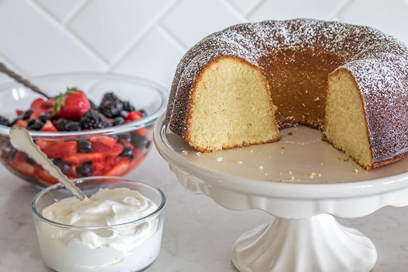 Featured Image for post High Altitude Classic Vanilla Bundt Cake