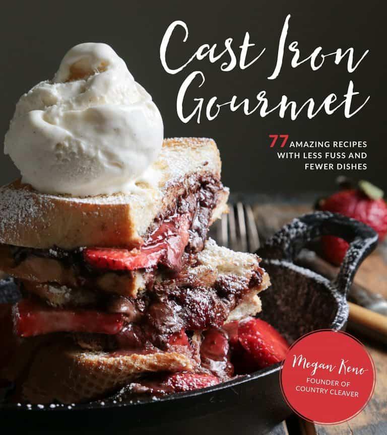 Cast Iron Gourmet cookbook cover