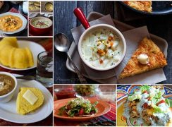 Photo collage of Favorite Fresh Corn Recipes