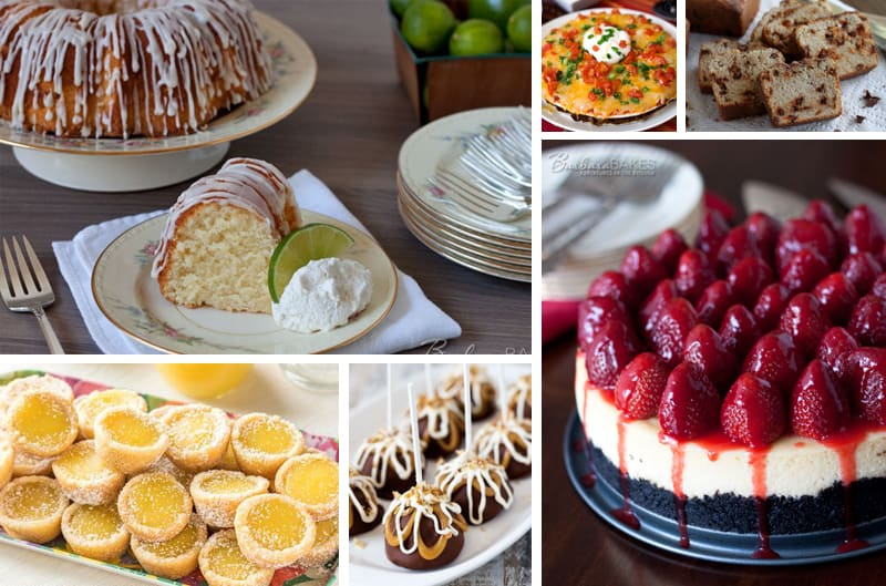 Featured Image Collage for post Most Popular Recipes of 2017