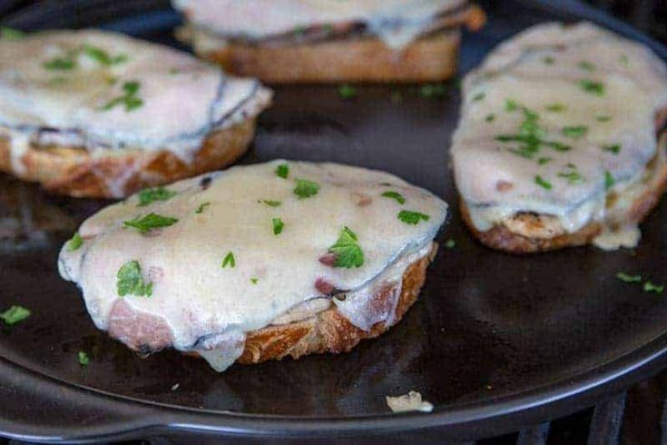 Featured Image for post - Chicken Cordon Bleu Melts