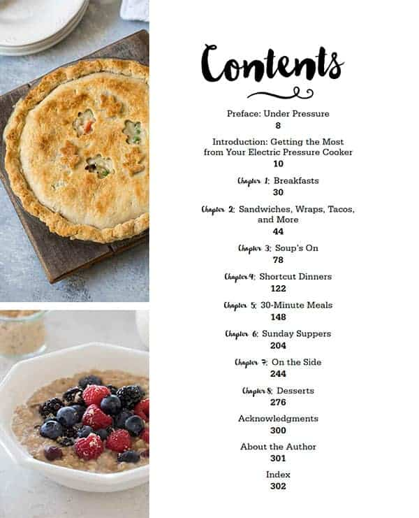 Table-of-Contents-The-Electric-Pressure-Cooker-Cookbook