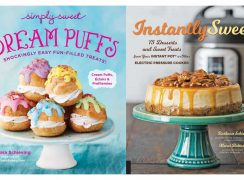 Two dessert cookbooks by Barbara Schieving: Dream Puffs and Instantly Sweet