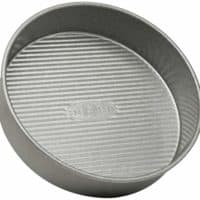 USA Pan Bakeware Round Cake Pan, 8 inch, Nonstick Aluminized Steel