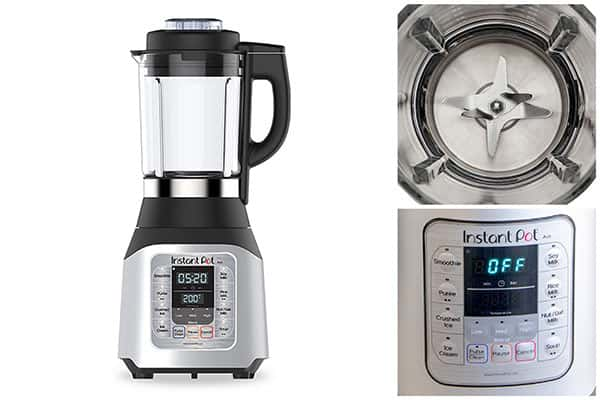 The Ace has a large 60 ounce heavy duty glass pitcher which includes the heating element and 8 stainless steel blades.