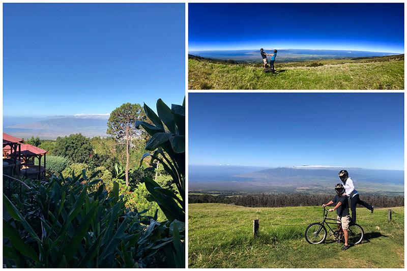 Maui Easy Ridersfor a bike ride down Haleakala,Maui's largest volcano