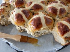 Featured image for Orange Currant Hot Cross Buns