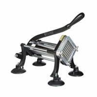 Weston Restaurant Quality French Fry Cutter (36-3501-W), Cast Iron, Includes Suction Cup Feet