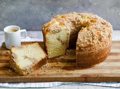 Featured image of homemade Corner Bakery Coffee Cake