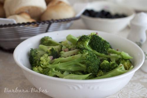 Broccoli Pancetta Sauté