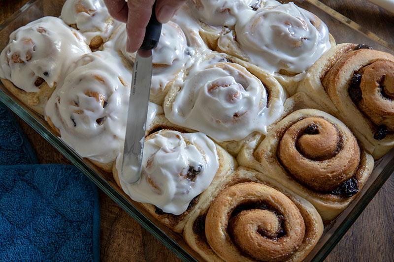 Featured image for Easy Homemade Cinnamon Roll Recipe