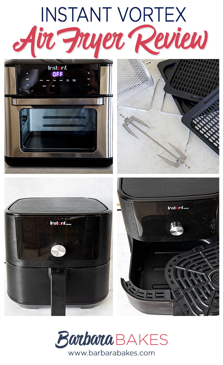 Air Frying is all the rage and Instant Pot has jumped into the air fryer market with two new, well designed Instant Vortex Air Fryers. Here's what you need to know before buying.  via @barbarabakes