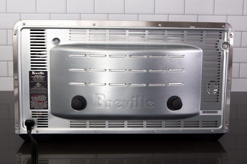 Back of the Breville Smart Oven Air Fryer