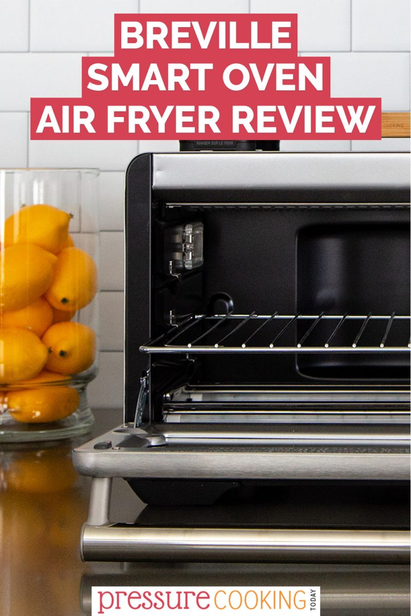 Pinterest button for the Breville Smart Oven Toaster oven