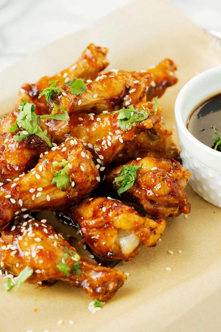 Air Fryer Asian Chicken Wings