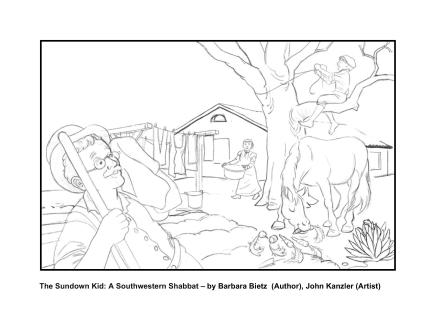 the-sundown-kid-coloring-page-1