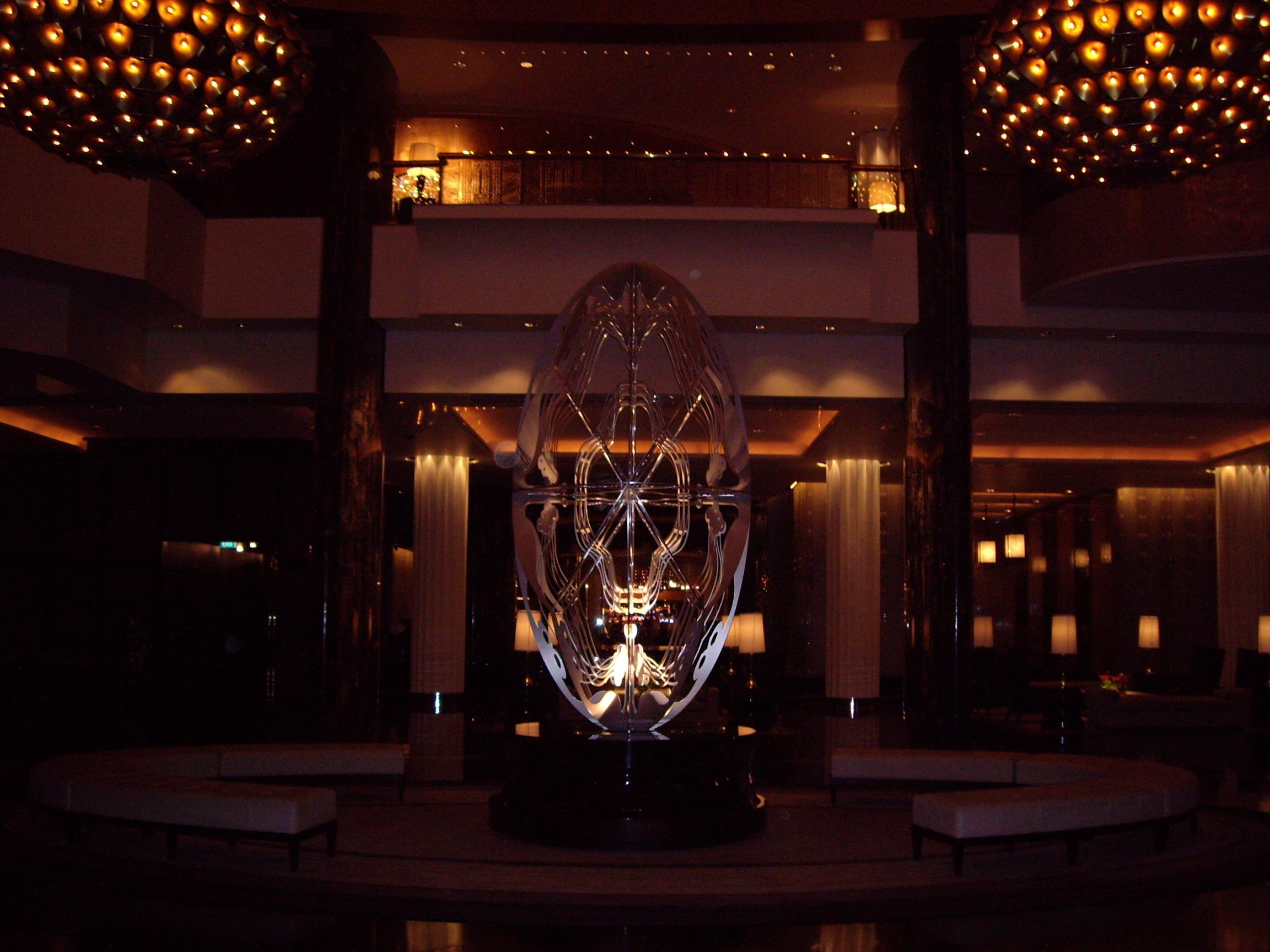 Crown Towers Lobby Sculpture Melbourne Australia