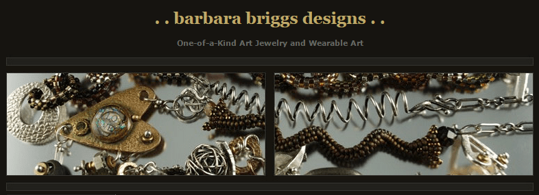 Barbara Briggs Designs Custom Jewelry & Wearable Art