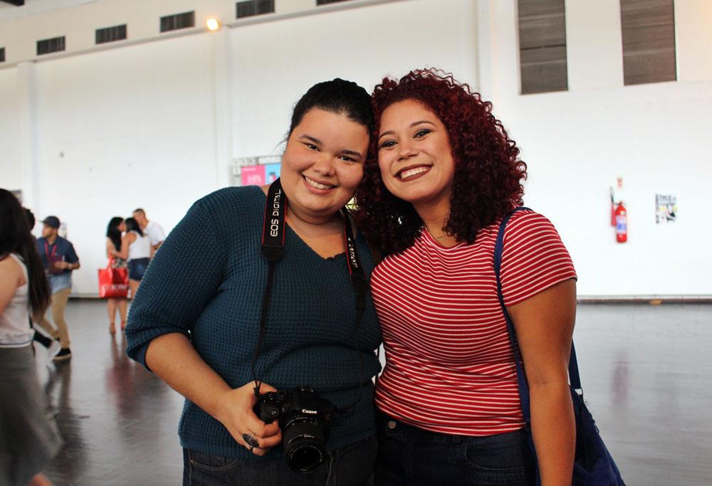 Bárbara Cavalcante e Sabrina Beatriz
