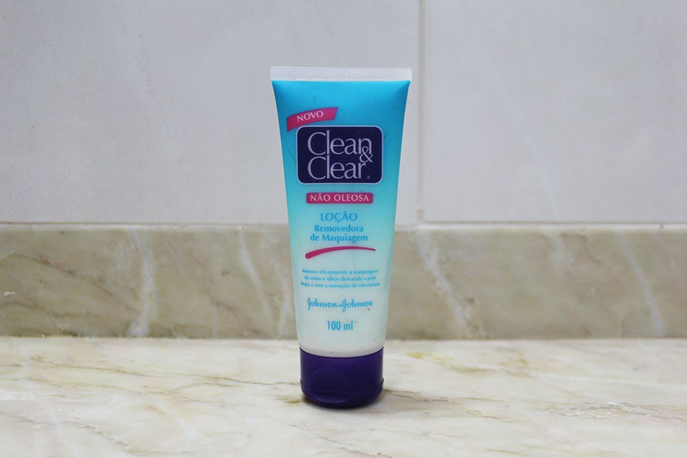 Creme Removedor de Maquiagem Clean & Clear