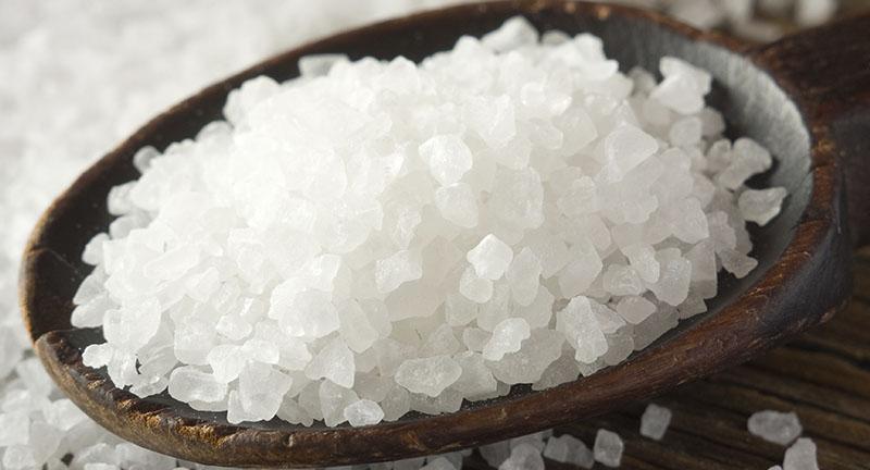 sal marinho ou sal grosso