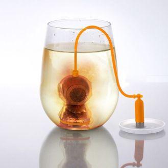 infusor mergulhador chá