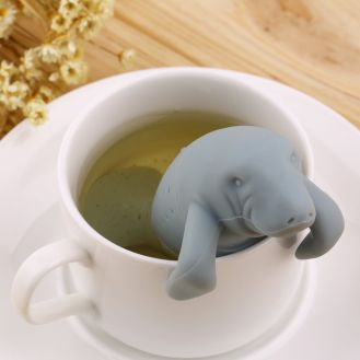infusor chá peixe boi