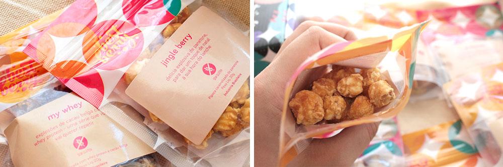Best Berry - Caixa de assinatura de snacks lanches saudáveis