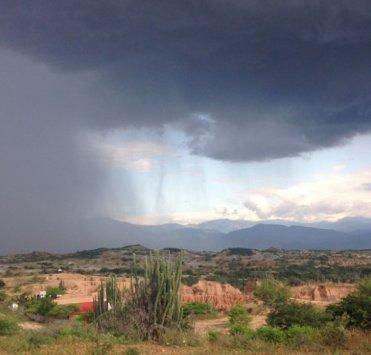 dessierto de Tatacoa: onweer