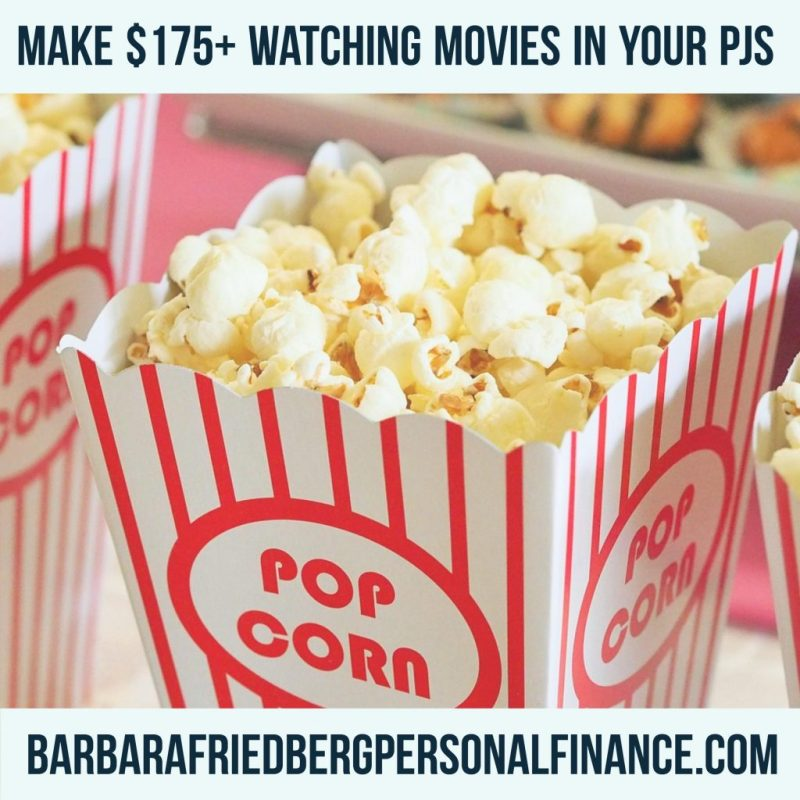 Make Money Watching Videos and Movies-Up to $175 per Month