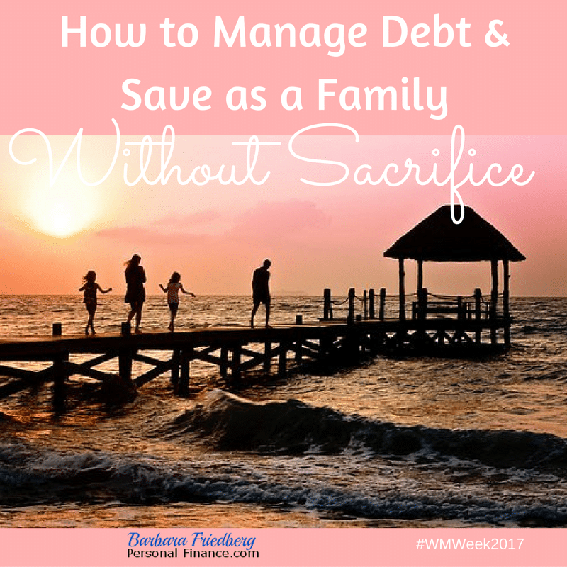 5 Tips To Manage Debt And Save As A Family Without Sacrifice