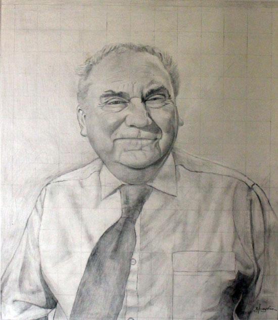 Portrait of C Wilkes
