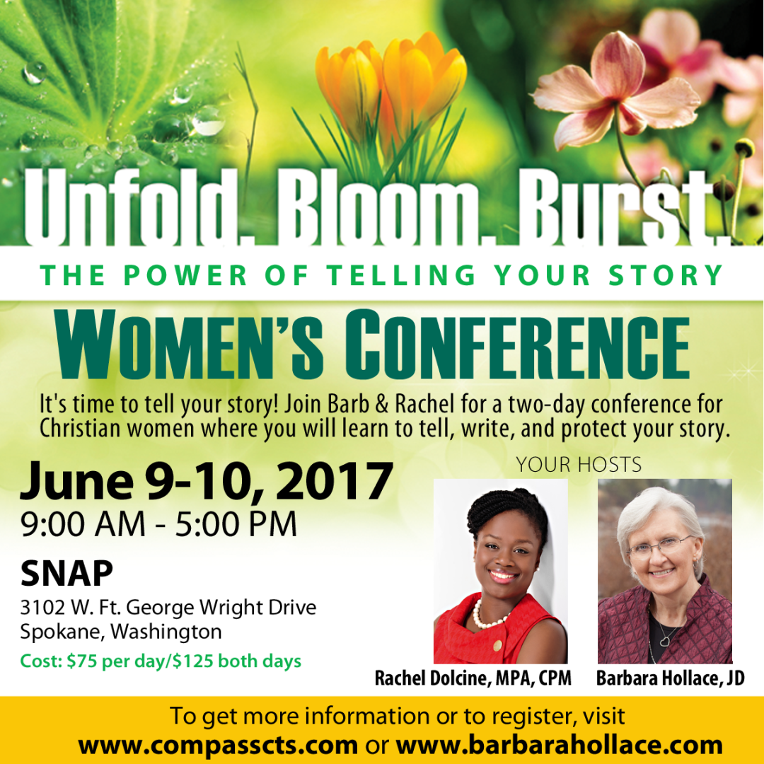 Women's Conference | Unfold. Bloom. Burst. | The Power of Telling Your Story