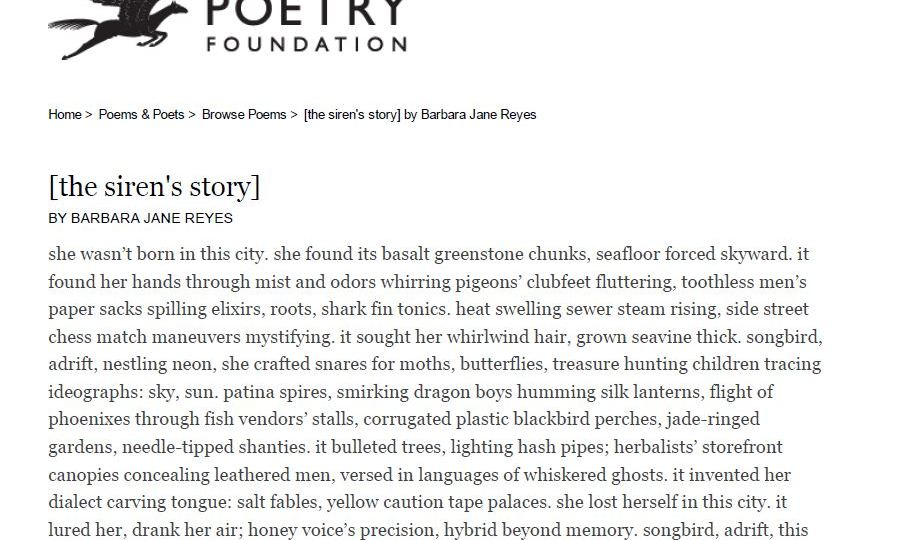 Essay: On being an immigrant poet in America