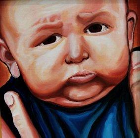 Barbara Mapelli, Ritratto di bambino
