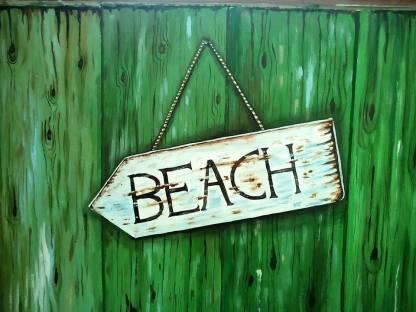 Barbara Mapelli - Vista su spiaggia tropicale