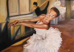 Barbara Mapelli - Libertà, 2016 , Olio su tela, 70 cm x 100 cm.