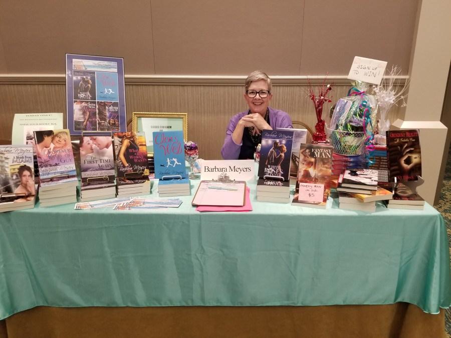 Barbara Meyers at the Florida Library Conference May 2018
