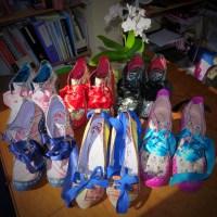 Cee's Fun Foto Challenge; Rainbow Colours - Shoes