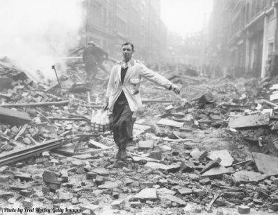 Le conseguenze del bombardamento di Londra 1940