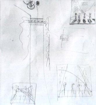 Lo schizzo di Paul McCartney per l'iconica foto in cui i Beatles attraversano Abbey Road